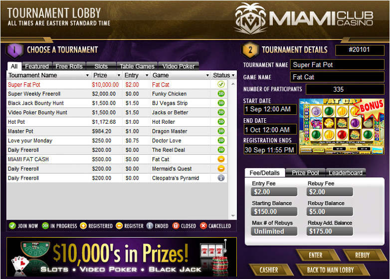 Slot Tournaments Work
