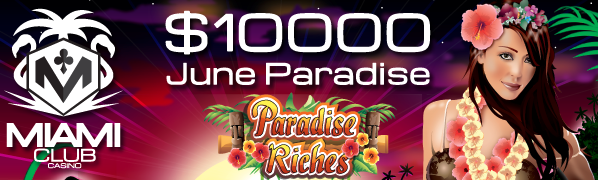 Paradise Riches Slot Tournament