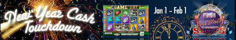 New Years Cash Touchdown Best Slot Tournaments